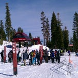 Photo taken at The Superpipe at Northstar by Russell E. on 1/28/2012