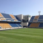 Photo taken at Estadio Ramon De Carranza by Martin E. on 7/17/2012