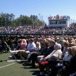 Photo taken at Endicott College Commencement by Erin D. on 5/19/2012