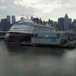 Photo taken at Manhattan Cruise Terminal by Kenny P. on 6/10/2012