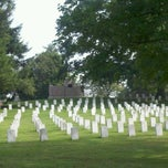 Photo taken at Soldiers' National Cemetery by Eileen B. on 8/8/2012