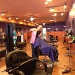 Photo taken at Nolas Salon by Andrew C. on 9/1/2012