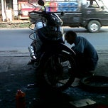 Photo taken at Bengkel Aldissa Motor by Anggri Vani K. on 7/10/2012