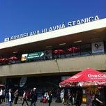 Photo taken at Bratislava hlavná stanica   Bratislava Central Station by K on 4/4/2012