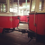 Photo taken at Vienna Tram Museum by Michael I. on 7/8/2012