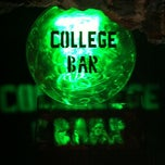Photo taken at College Bar by DIEGO A. on 4/5/2012