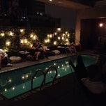 Photo taken at la piscine at h tel americano by ryan c on for La piscine new york