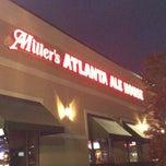 Photo taken at Miller's Alpharetta Alehouse by Scott L. on 4/20/2012