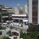 Photo taken at Πανεπιστήμιο Πειραιώς (University of Piraeus) by Deligiannis G. on 5/16/2012