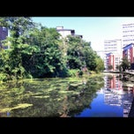 Photo taken at Grand Union Canal -  Maida Hill by Saul T. on 7/26/2012