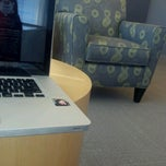 Photo taken at Benedictine University Library by Heather L. on 8/28/2012