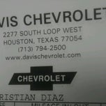 Photo taken at Davis Chevrolet by Teresa R. on 6/20/2012
