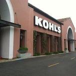 Photo taken at Kohl's by Jenna R. on 5/2/2012