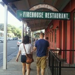 Photo taken at The Firehouse Restaurant by Brian C. on 8/2/2012