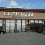 Photo taken at LA Fitness Signature Club by Megan P. on 3/31/2012