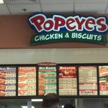 Photo taken at Popeyes Chicken & Biscuits by Diestrong W. on 8/18/2012