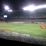 Photo taken at Free State Stadium (Vodacom Park) by Francois T. on 4/20/2012