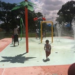 Photo taken at Juan Pablo Duarte Park by Sabrina g. on 7/30/2012