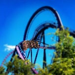 Photo taken at Six Flags New England by Shaidalys G. on 6/29/2012