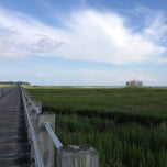 Photo taken at Silver Sands State Park by Anna Maria V. on 7/29/2012
