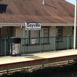Photo taken at LIRR - Sayville Station by Matt D. on 8/2/2012