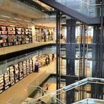 Photo taken at Bibliothèque et Archives nationales du Québec (Grande Bibliothèque) by Vladimir A. on 2/15/2012