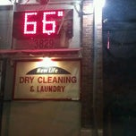 Photo taken at New Life Cleaners & Laundry by Greg F. on 4/26/2012