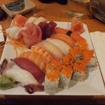 Photo taken at Mizu Sushi & Grill by Sylvia H. on 9/12/2012