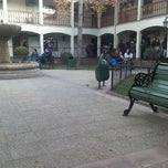 Photo taken at Registro Civil by camila t. on 5/15/2012