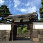 Photo taken at 江戸城 桜田門 (外桜田門) by Hiroyuki I. on 8/14/2012
