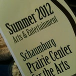 Photo taken at Schaumburg Prairie Center for the Arts by American Business Language Academy C. on 6/29/2012