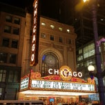 Photo taken at The Chicago Theatre by Daniel P. on 6/16/2012