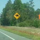 Photo taken at The Lost Highway — Hank Williams Memorial Highway by Robbie J. on 3/18/2012