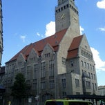 Photo taken at Rathaus Berlin-Neukölln by Pascal G. on 8/14/2012
