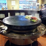 Photo taken at Hot Iron Mongolian Grill by Francisco B. on 5/2/2012