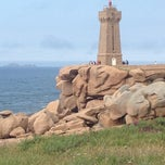 Photo taken at Phare de Ploumanac'h by Alexey G. on 7/17/2012