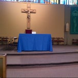 Photo taken at St. Paul the Apostle by Natasha S. on 6/26/2012