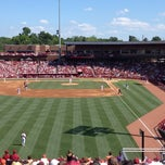 Photo taken at Carolina Stadium by Monty T. on 6/2/2012