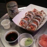 Photo taken at Rollbotto Sushi by kristi on 9/8/2012