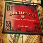Photo taken at Sláinte Irish Pub by Mark K. on 7/10/2012