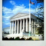 Photo taken at Supreme Court of the United States by Whitney Q. on 4/8/2012