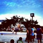 Photo taken at สนามบาส กกท. หัวหมาก by Takkun L. on 8/5/2012