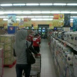 Photo taken at Carrefour by Nanda S. on 3/17/2012