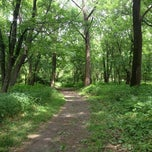 Photo taken at Walnut Woods State Park by Erik R. on 6/7/2012