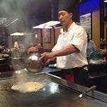 Photo taken at Shogun by Stephanie W. on 7/14/2012