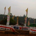 Photo taken at Sirkuit Offroad Harvest City by Febby M. on 4/21/2012