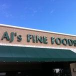 Photo taken at AJ's Fine Foods by Sean R. on 2/15/2012