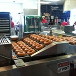 Photo taken at Krispy Kreme Doughnuts by Torrie S. on 6/12/2012