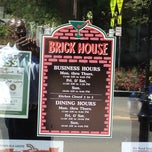 Photo taken at Brick House Restaurant & Lounge by Cal S. on 6/5/2012