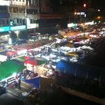 Photo taken at Pasar Malam Taman Connaught 康乐 by Yan L. on 7/4/2012